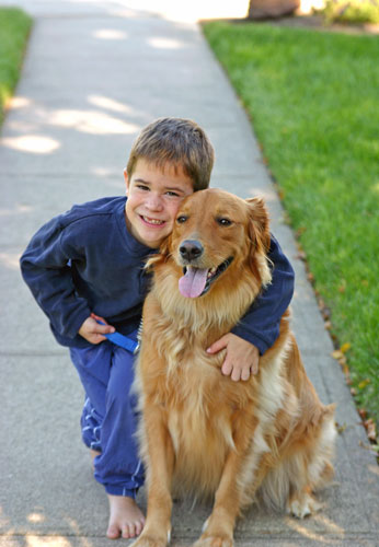 Children can help with some pet care tasks