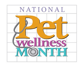 National Pet Wellness Month.